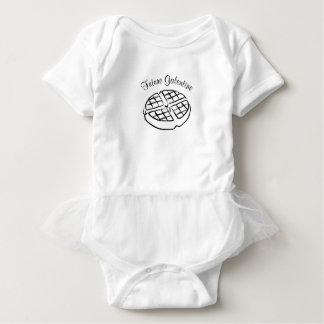 Future robe de bébé de gaufre de Galentine