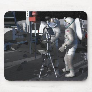 Futures missions 5 d'exploration d'espace tapis de souris