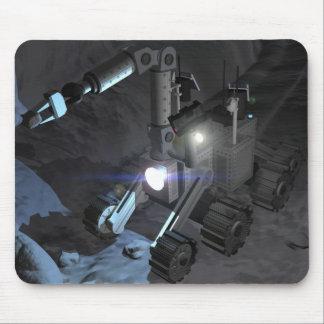 Futures missions 6 d'exploration d'espace tapis de souris