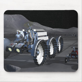 Futures missions 8 d'exploration d'espace tapis de souris