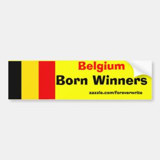 Gagnants de la Belgique Autocollant De Voiture