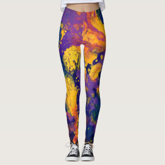 Galaxie pourpre II Leggings