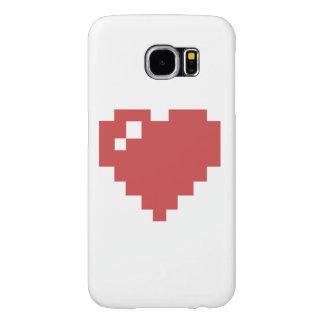 galaxie s6 de Samsung de coeur