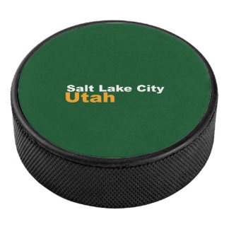 Galet d'hockey de Salt Lake City, Utah Palet De Hockey