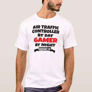 Gamer de contrôleur de la navigation aérienne t-shirt
