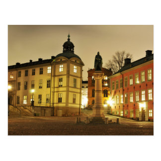 Gamla Stan à Stockholm, Suède Carte Postale