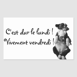 Gamme Amstaff - Vogue Sticker Rectangulaire