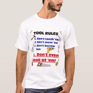 Garage en bois humoristique de père de papa de t-shirt