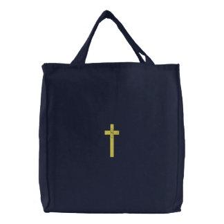 Garçon de baptême sac brodé