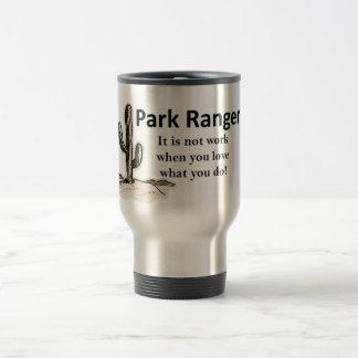 Garde forestier mug de voyage
