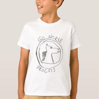 Gardez le calma et ALLEZ CHEVAL T-shirt