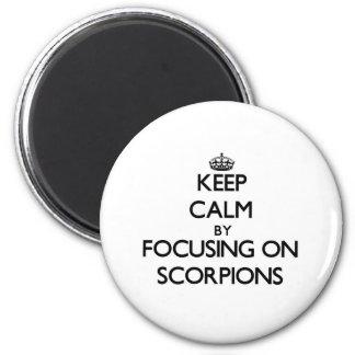 Gardez le calme en se concentrant sur des scorpion