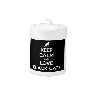 Gardez le calme et aimez les chats noirs