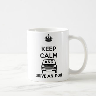 Gardez le calme et conduisez une tasse d'Austin