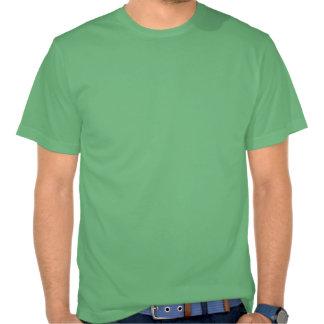 Gardez le calme et le hippie dessus t-shirt