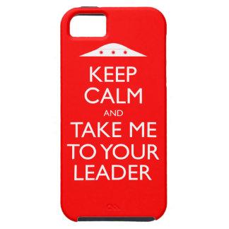 Gardez le calme et portez-moi dans votre cas de l' étui iPhone 5