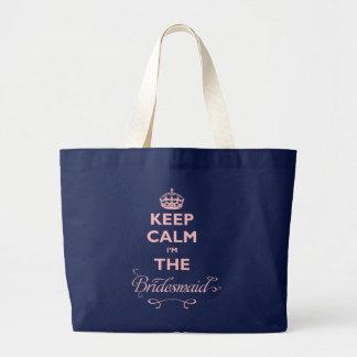 Gardez le calme que je suis le sac fourre-tout