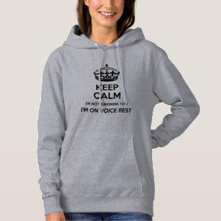 Gardez le calme - sweat - shirt à capuche