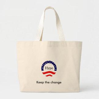 Gardez le changement grand sac