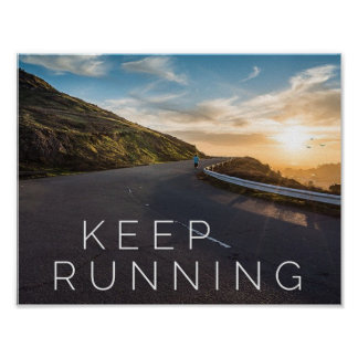 Gardez le fonctionnement - affiche de motivation