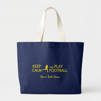 Gardez le sac du football de calme et de jeu -