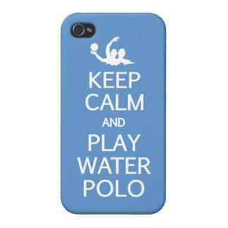 Gardez les coques iphone de polo d'eau de calme et étui iPhone 4