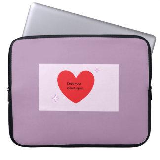 Gardez votre douille ouverte d'ordinateur portable housses pour ordinateur portable