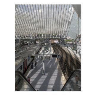 Gare ferroviaire de Liège-Guillemins Carte Postale