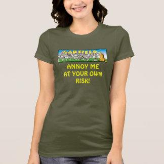 Garfield Logobox m'ennuient le T-shirt de la femme