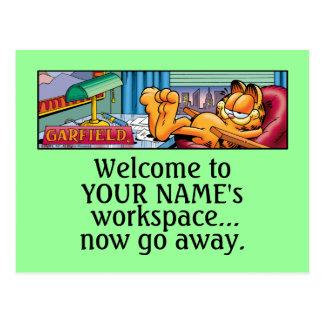 Garfield Logobox vont maintenant les cartes postal Cartes Postales