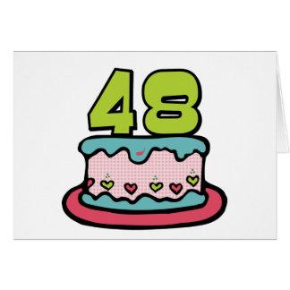 Gateau d'anniversaire 48 ans