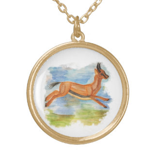 Gazelle Goud Vergulden Ketting