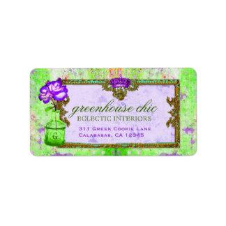 GC Certificaat van de Gift van het Limoen van de Etiket