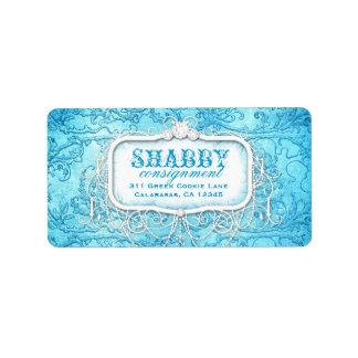GC het Sjofele Vintage Blauwe Etiket van de Wervel