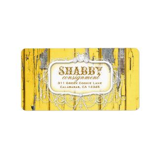 GC Sjofel Vintage Geel Etiket