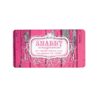 GC Sjofel Vintage Roze Etiket