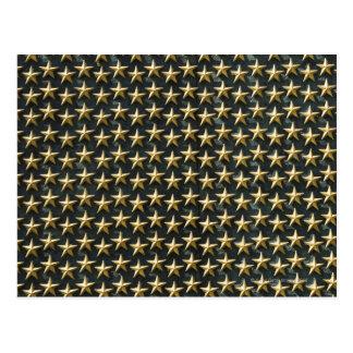 Gebied van gouden sterren bij het Gedenkteken van Briefkaart