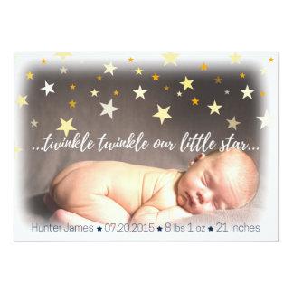 Geboorte Announcemet Kaart
