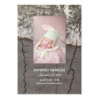 Geboorte van de Foto van het Baby van de Kaart