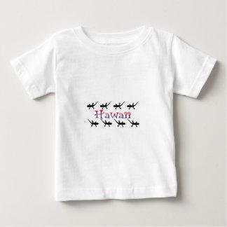 geckos de hawai t-shirt pour bébé