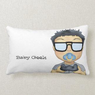 Geek de bébé (garçon) coussin