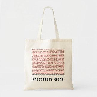 Geek de littérature - sac fourre-tout à Chaucer