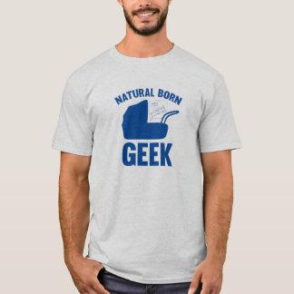 Geek de naissance t-shirt