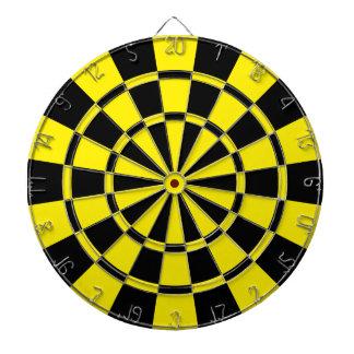 Geel en Zwart Dartbord