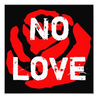 Geen Liefde nam het Poster van de Uitbreiding van
