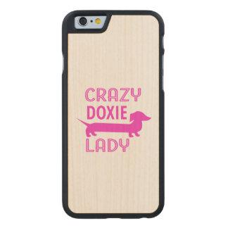 Gekke Doxie Dame Funny Dachshund Mama
