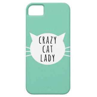 Gekke Kat Dame Funny Case