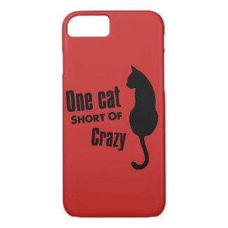 Gekke Kat Funny Meow Apple iPhone van Dame 8/7 iPhone 8/7 Hoesje