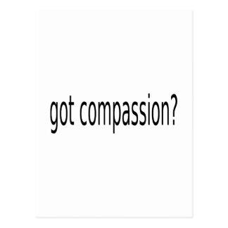 gekregen medeleven? briefkaart