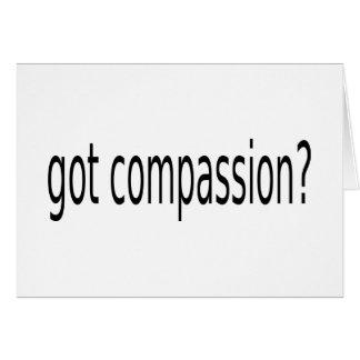 gekregen medeleven? wenskaart